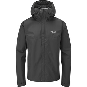 Rab Downpour Eco Jacket Men, black